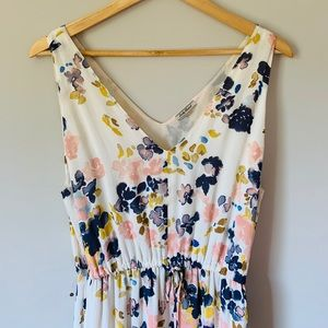 Lucky Brand maxi dress with pockets